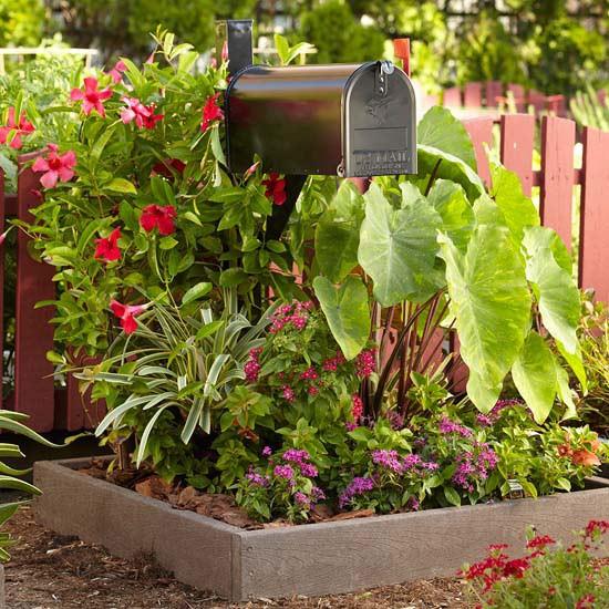 mailbox makeover space gardening