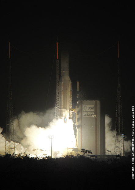Despegue del Ariane 5