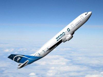 Aereo zero-G dell'Esa per i voli parabolici in microgravità