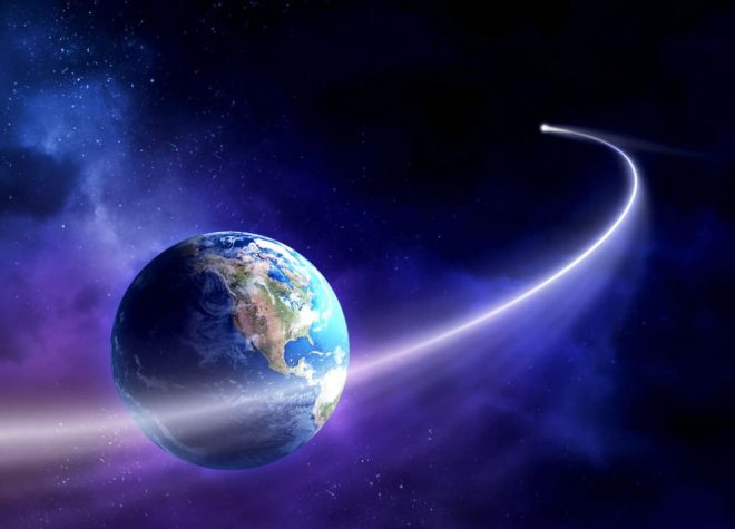 Image result for flying through space