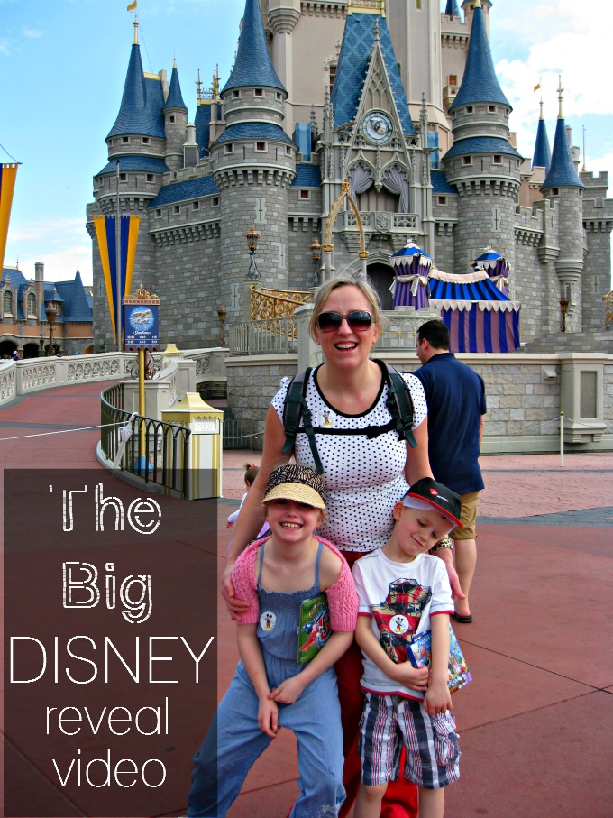 Making a Disney reveal video is the perfect way to tell the kids they're going to the Magic Kingdom!