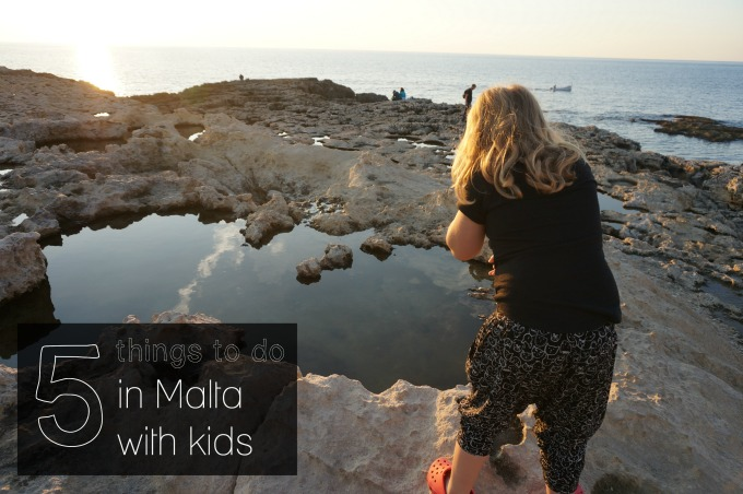 5 things to do in malta with kids