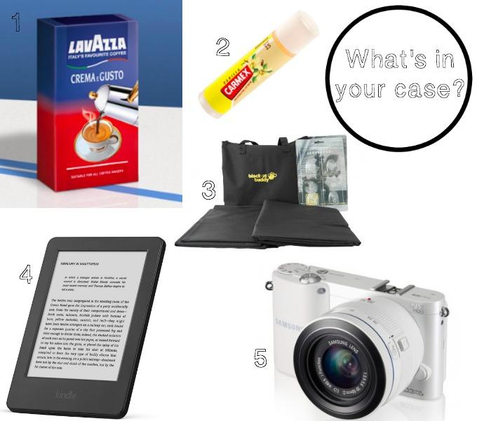Helen Wills' suitcase essentials