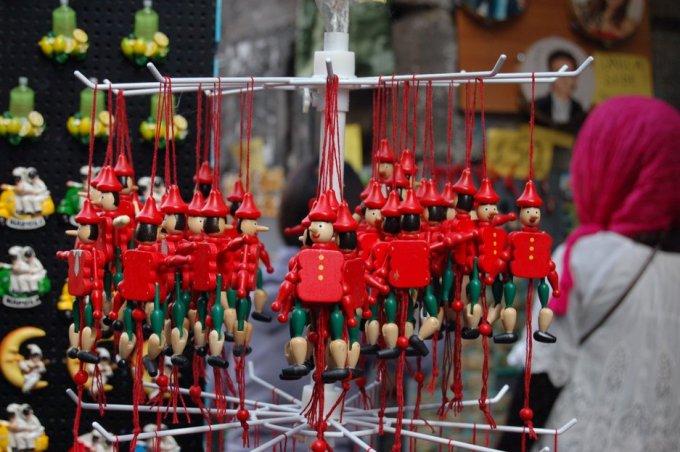 Pinocchios Naples Via S Gregorio Armeno