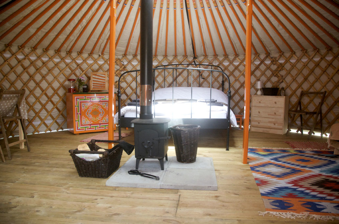 Somerset Yurts - the perfect glamp