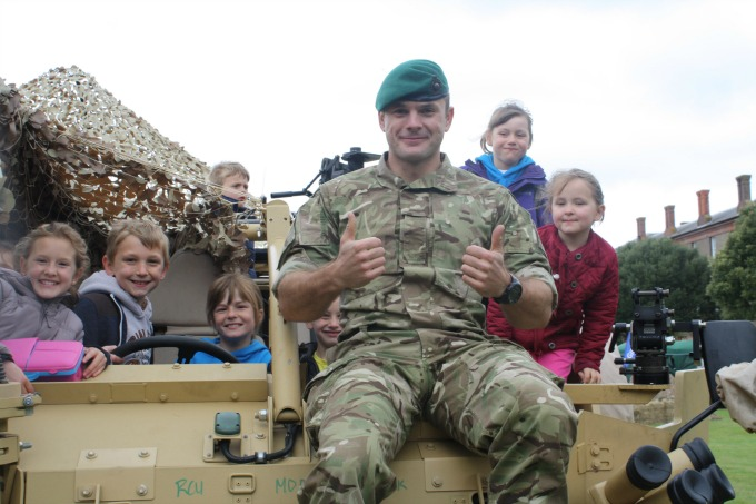 Half term school holidays with the kids - be a commando!