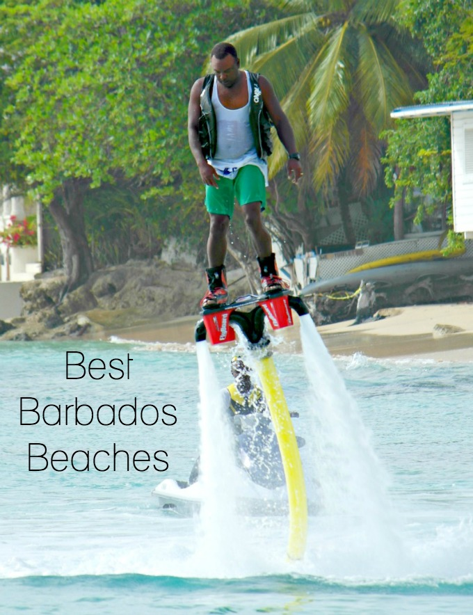 Best Barbados beaches for watersports