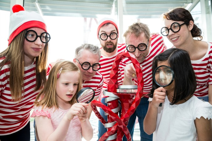 Things to do with the kids at half term - Where's Wally at the  ArcelorMittal Orbit in Queen Elizabeth Olympic Park