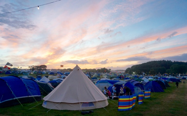 What's In Your Case:  Family Festival Packing List
