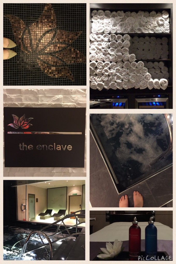 The Enclave spa onboard Princess Cruises