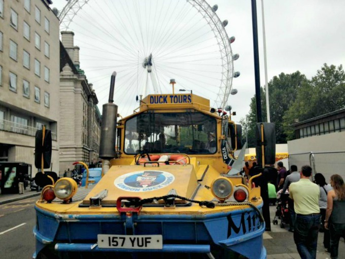 The Amba Hotel at Charing Cross is the perfect base from which to take the famous London Duck Tours
