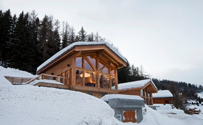 Family ski chalets with Chaletfinder