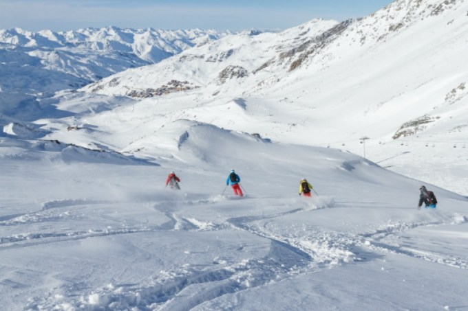 Val Thorens piste guide for families - off piste, Val Thorens is a paradise for the more advanced skiers in your family
