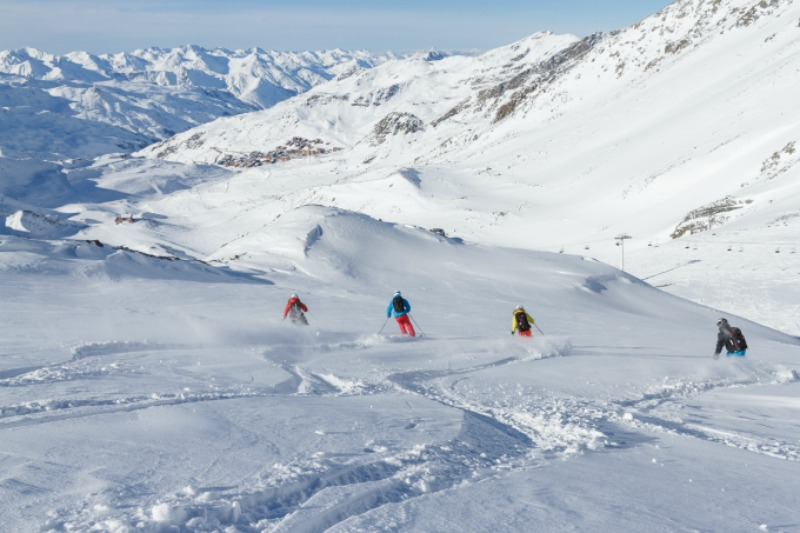 Skiing: Val Thorens Piste Guide for Families