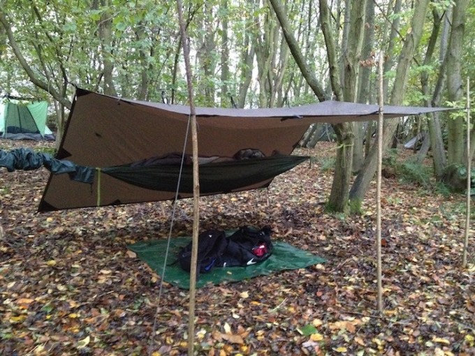 What kind of camper are you? Gretta likes a hammock in the open air.