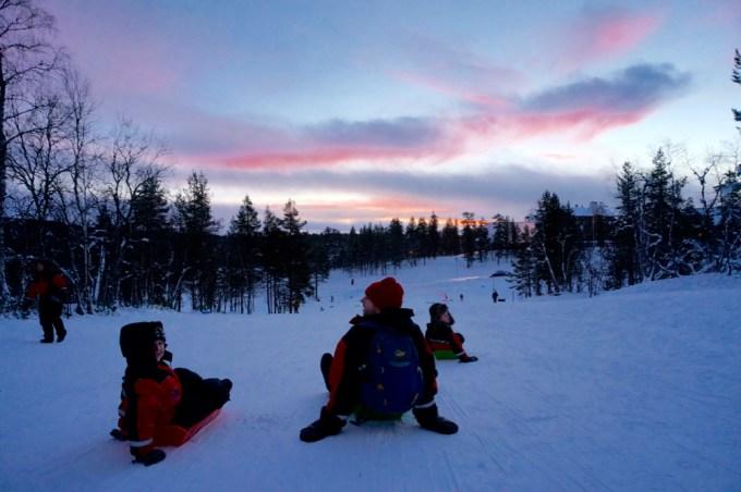 Finland's Longest Toboggan Run
