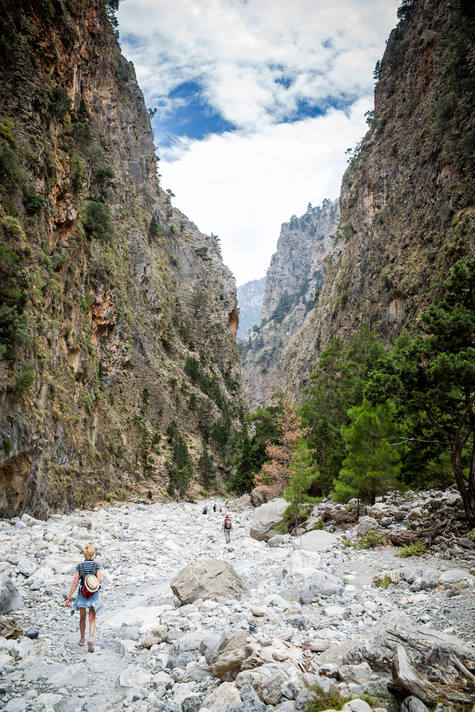 5 things to do in Crete with kids - Tackle Samaria Gorge
