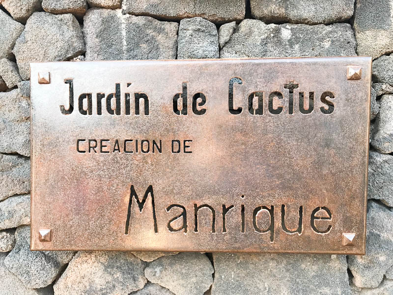 A refreshing stop on the terrace at César Manrique's Jardín de Cactus is the perfect end to a day on Lanzarote