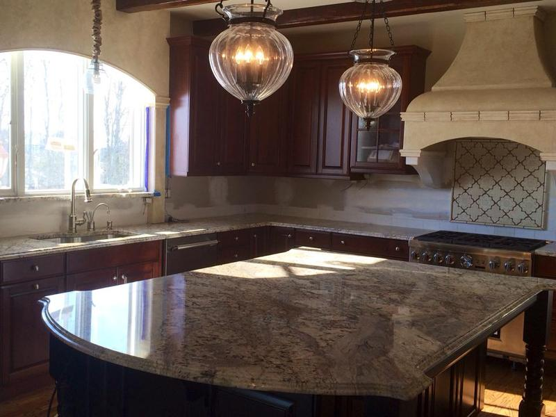 discount kitchen cabinets nj white table granite countertop specials package price $42.00 per sq.ft.