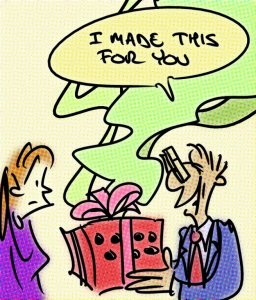 Present Cartoon