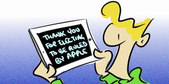 iPad2 Cartoon