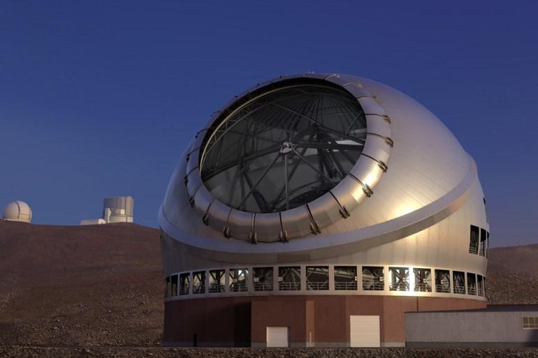 Telescope TMT Hawai