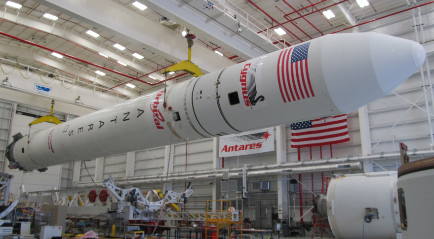 Antares rocket. Credit: Orbital Sciences