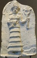 Ishtar, dea dell'amore, della fertilità e della guerra. II millennio a.C.