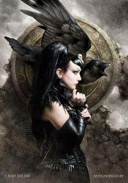 Morrigan, dea celtica della guerra