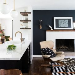 Pictures Of Black And White Living Rooms Floor Vases For Room Uk 8 Accent Colors A Microapartment With
