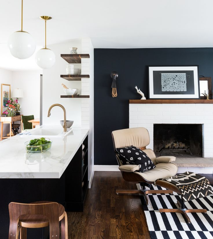 8 Accent Colors For A Microapartment With Black And White Rooms Spaceoptimized