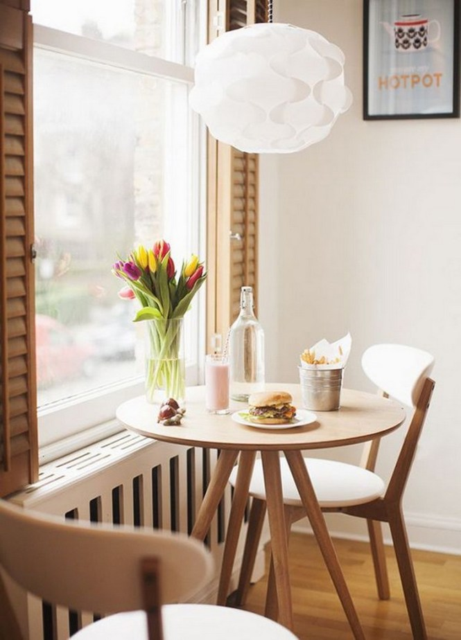 How To Squeeze In A Dining Room Tiny Apartment