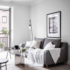 Living Room Small Apartment Light Gray Chair Ideas 10 Ways To Make A Tiny Look