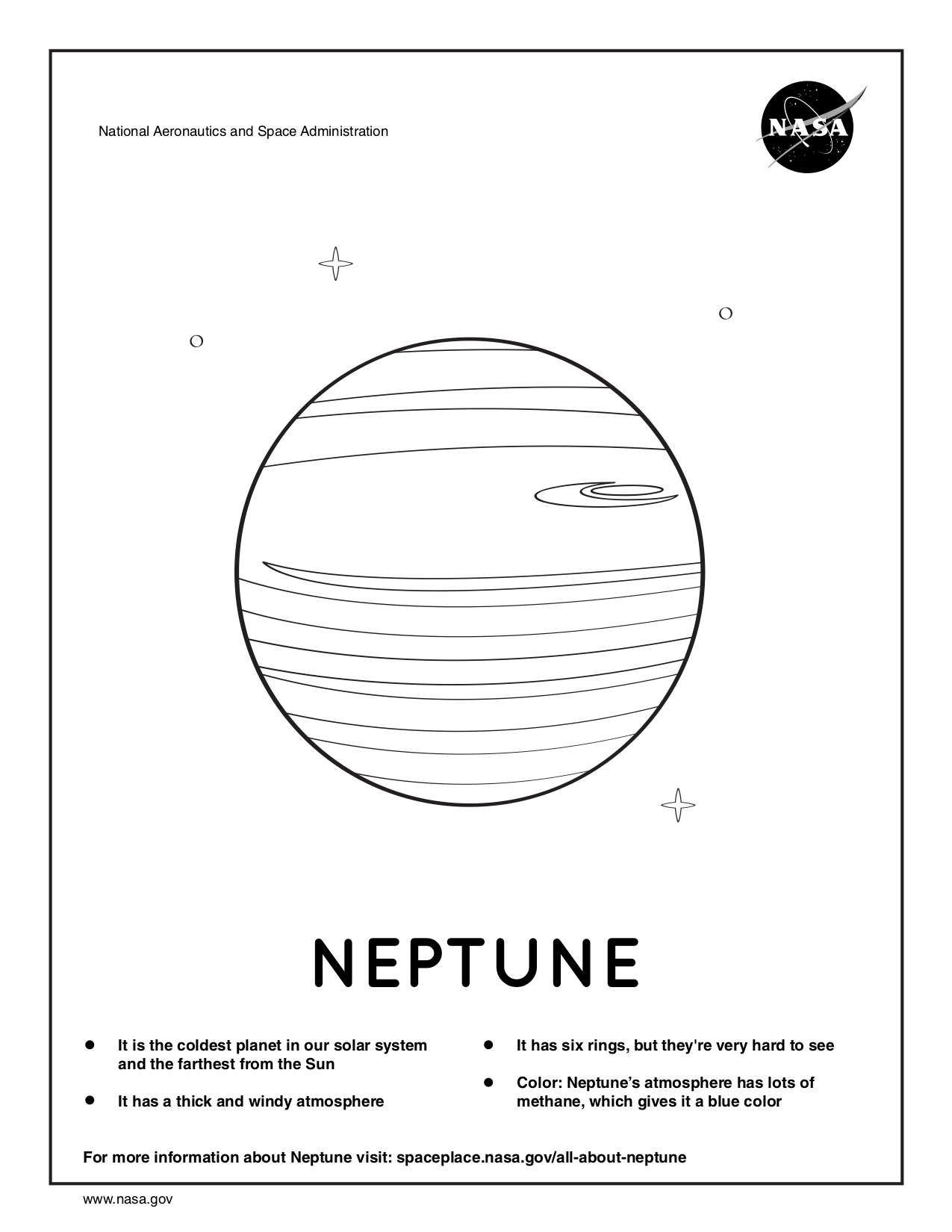 NASA Coloring Pages | NASA Space Place