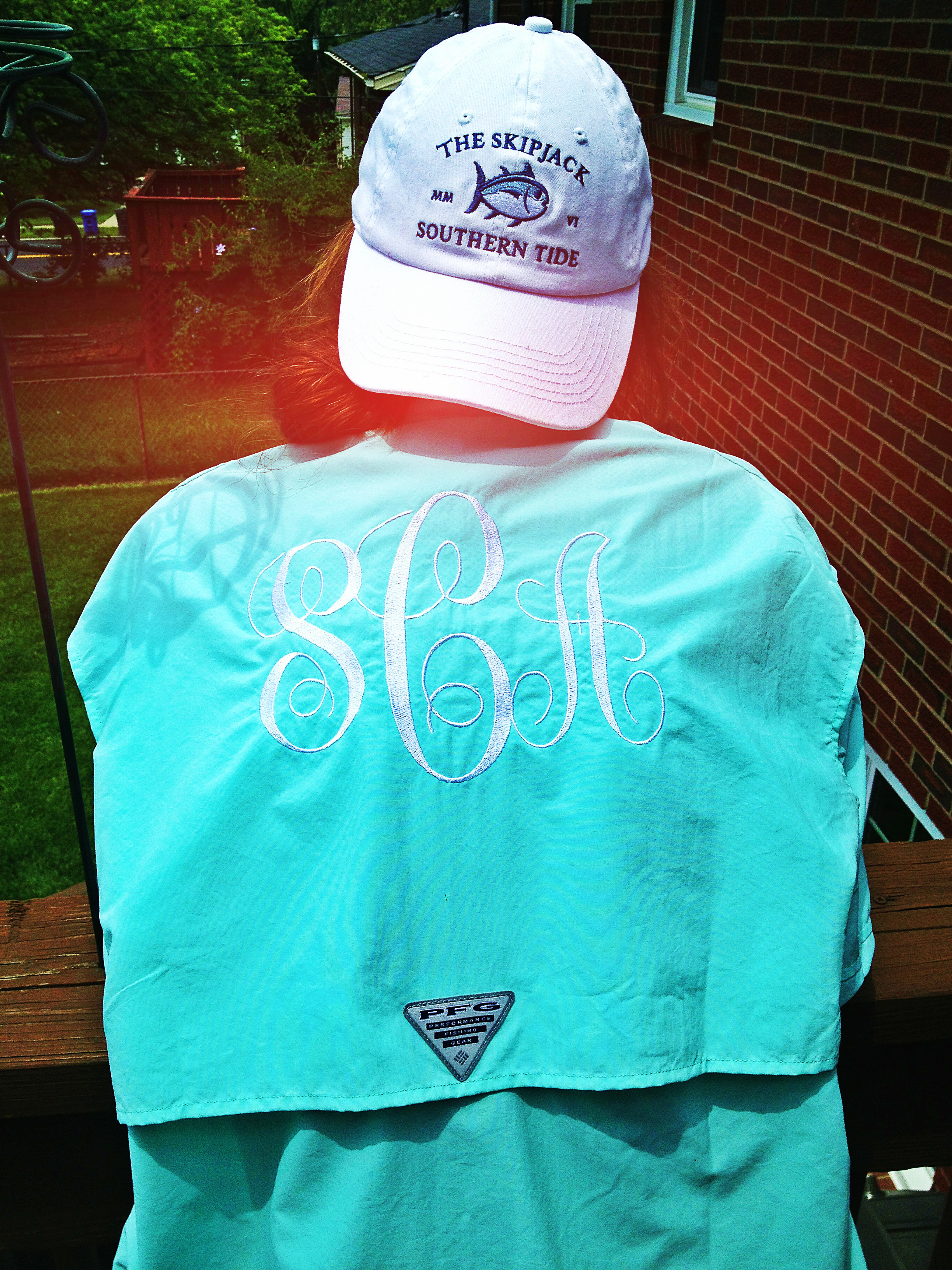 My kind of southern identifying a southern belle space for Embroidered columbia fishing shirts