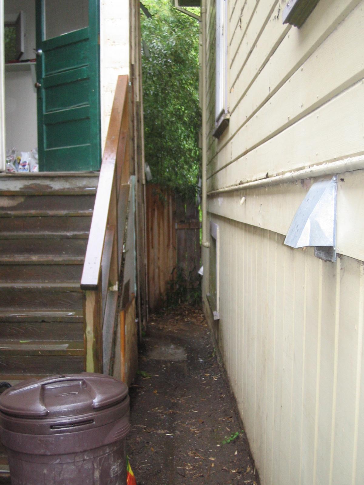 old porch steps