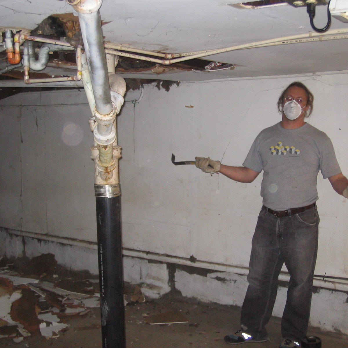 john ready to gut basement