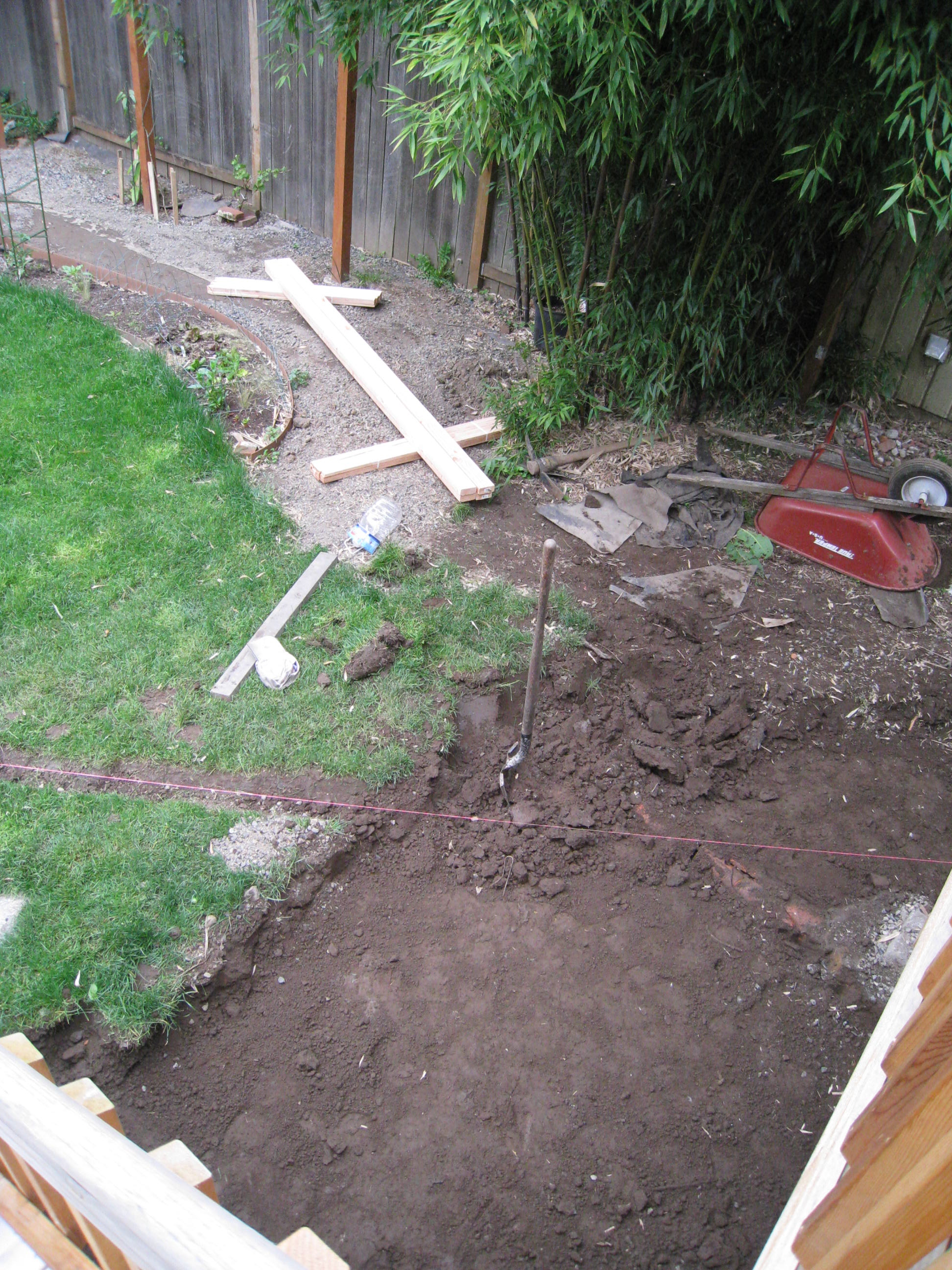 patio base