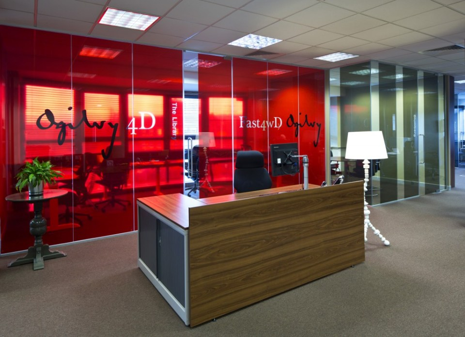Image of Ogilvy 4D reception area