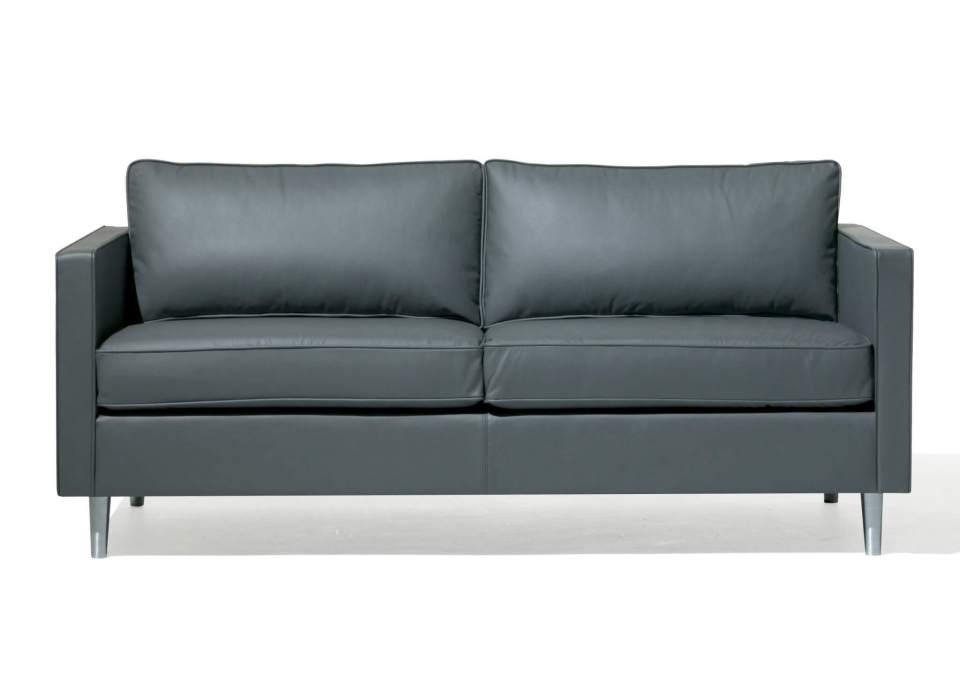 Picture of Orangebox Ogmore Leather Reception Sofa