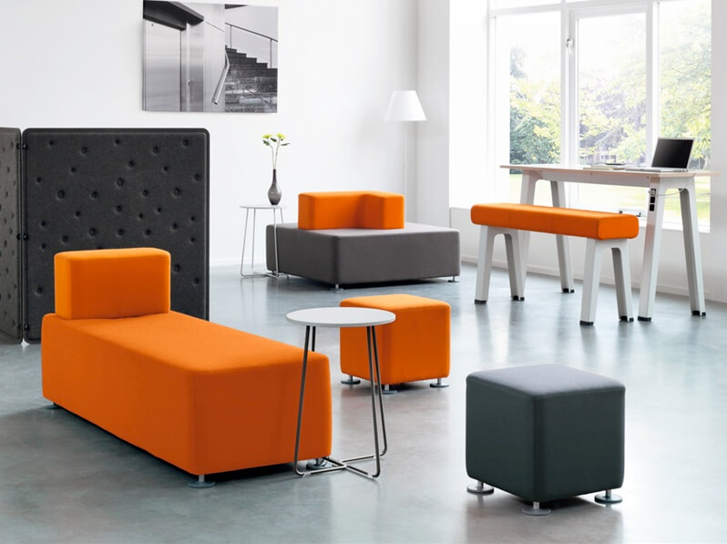Picture of Orangebox B-Free Stylish Office Reception Seating