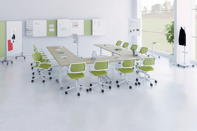 Picture of Steelcase FlipTop Twin Meeting and Conference Tables
