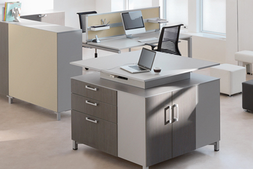 Picture of Steelcase Share It Modular Office Storage System