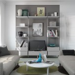 Our storage systems can be used outside of a wardrobe to help you achieve that wow factor in your home.