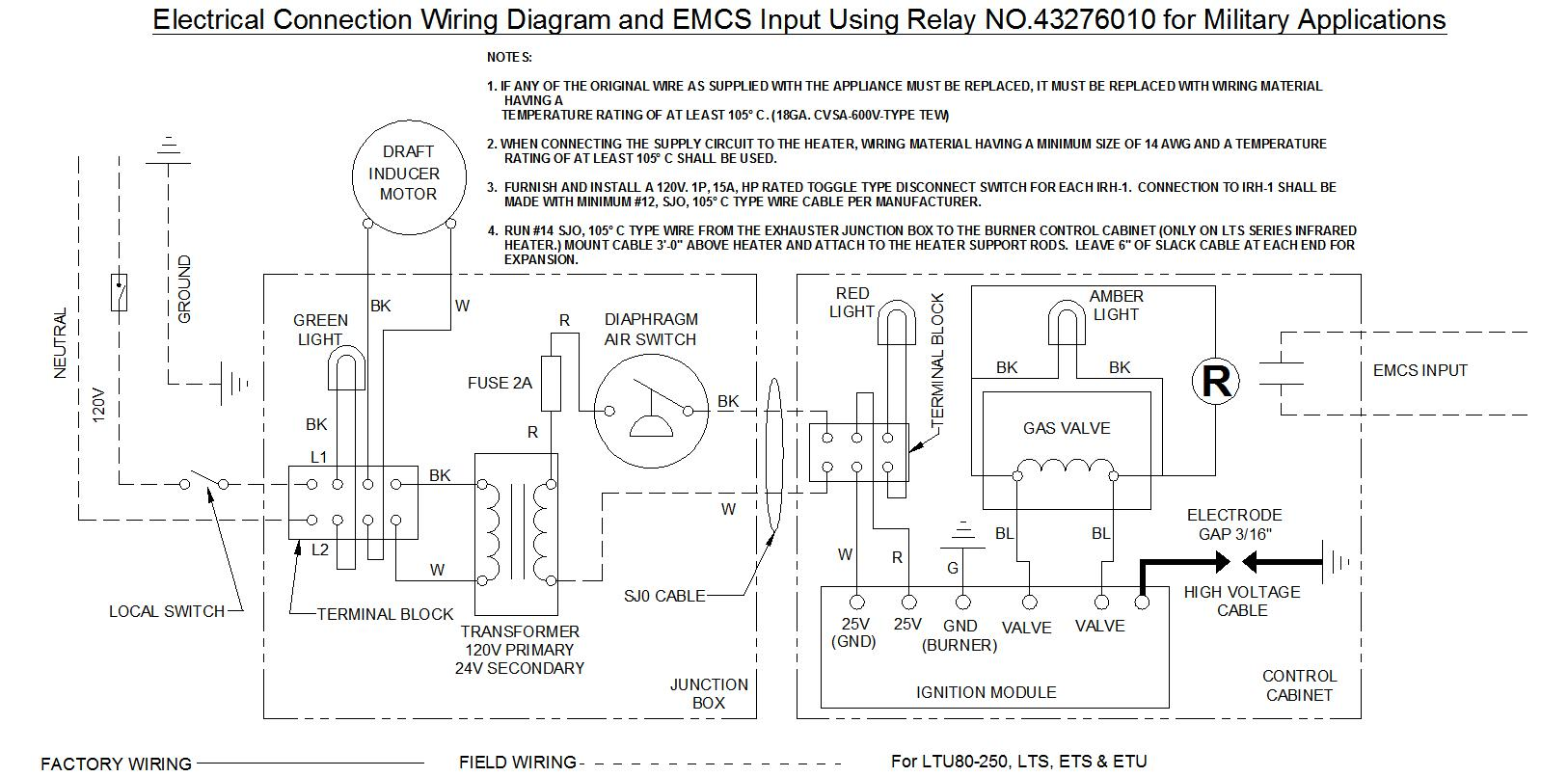 hight resolution of additional tube heater information