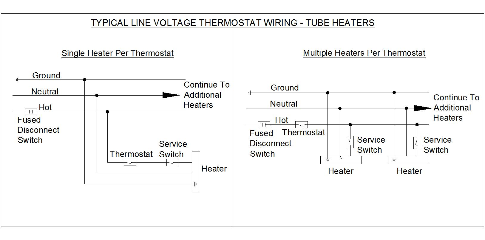 hight resolution of line voltage wiring diagram wiring diagram list line voltage thermostat wiring diagram