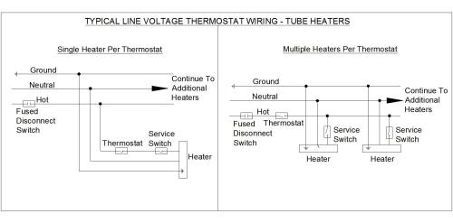small resolution of line voltage wiring diagram wiring diagram list line voltage thermostat wiring diagram