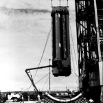 Hoisting Saturn SA-1 First Stage