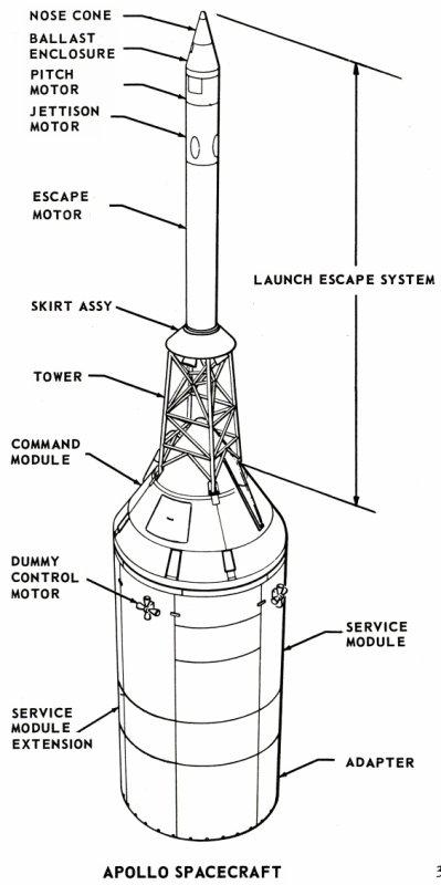 Saturn I SA-6 - 28.5.1964 Sa-6-spacecraft