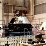 Apollo 1 during the investigation